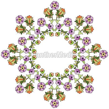 ottoman motifs design series seventy eight