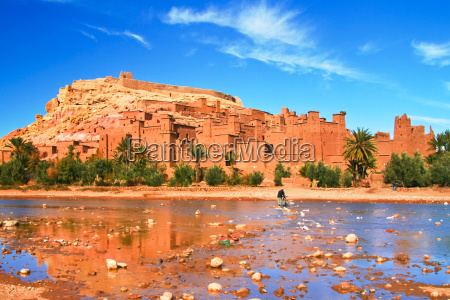 ancient city of ait benhaddou in