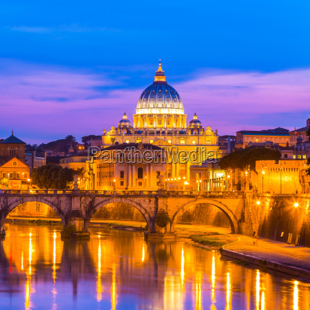 view at st peters cathedral in