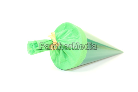 green school bag