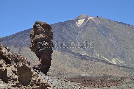 roque cinchado and pico del teide
