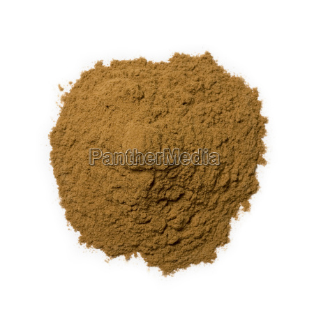 cinnamon spice isolated on white background