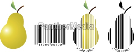 barcode symbolizing the inventory