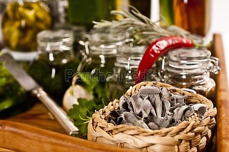 make herbal stable