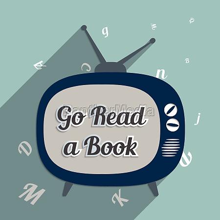 go read a book