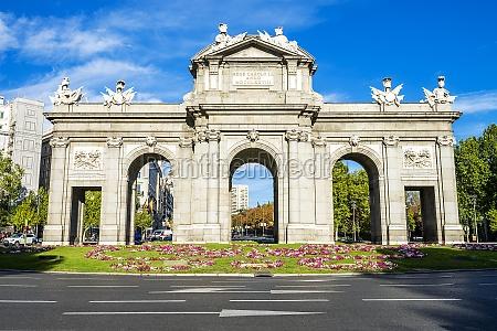 the puerta de alcala madrid