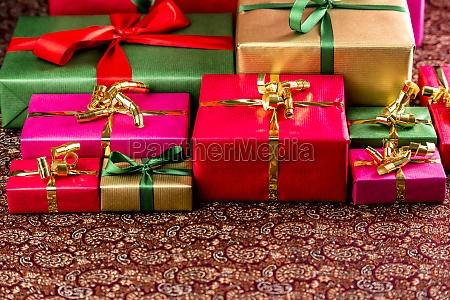 plenty of presents ready to be