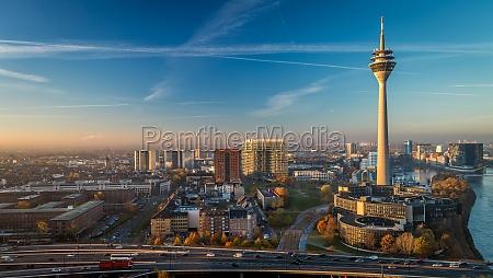 sunrise television tower farsightedness emblem germany