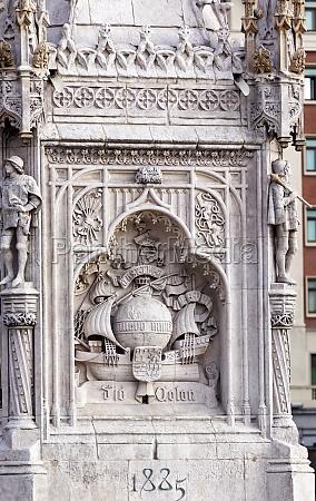 columbus statue monument plaza de colon