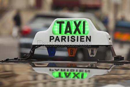 pariser taxischild