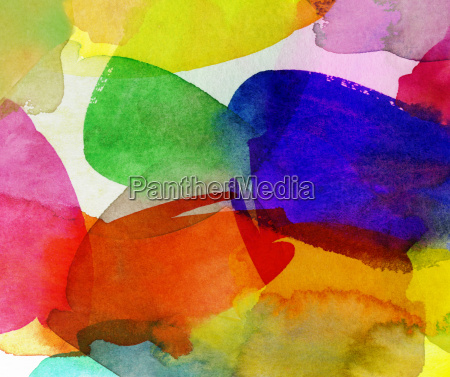watercolor colorful summer colours