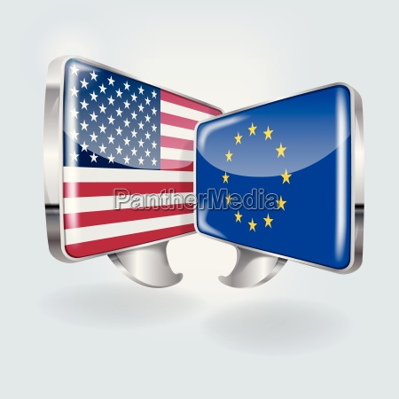 speech bubbles in european and american