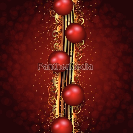red christmas illustration