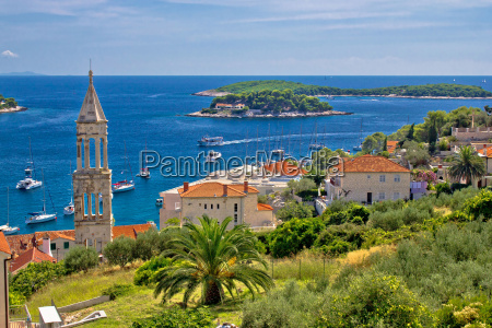 island of hvar nature and architecture