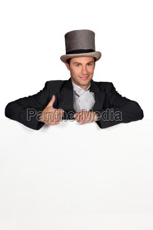 man dressed in wedding attire with