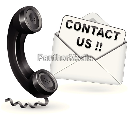 vector contact icon illustration