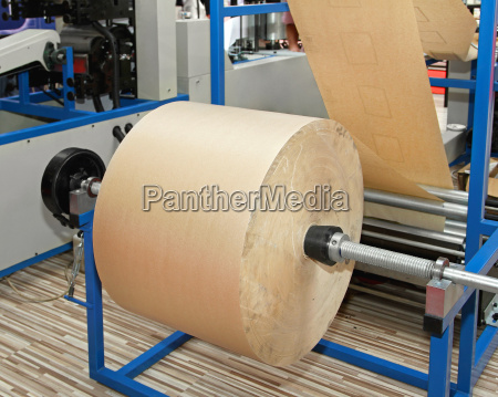 recycled paper roll