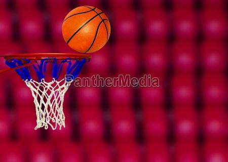 basketball score shoot