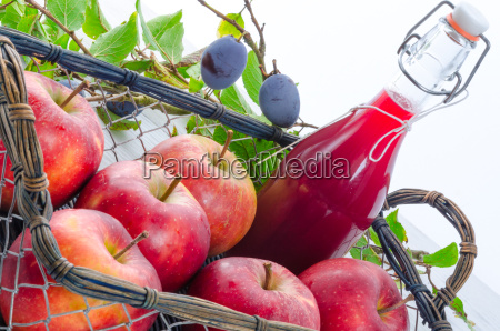 apple plum juice