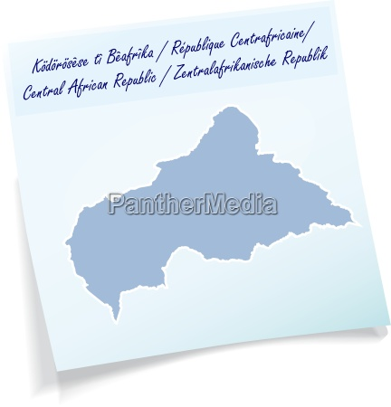 central african republic as a notepad