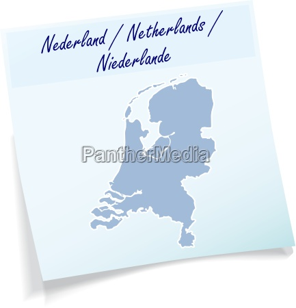 netherlands as notepad