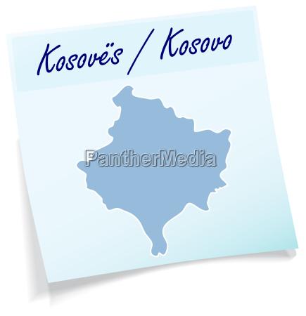 kosovo as a notepad