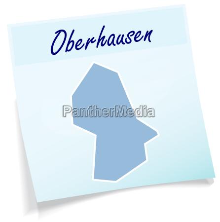 oberhausen as a notepad