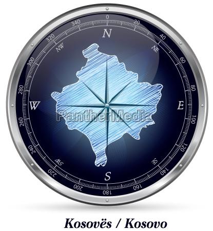 kosovo with borders