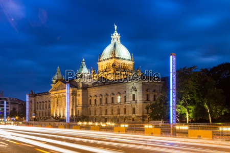 blue hour at the federal administrative