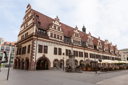 rathaus town hall in leipzig