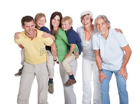 happy generations family