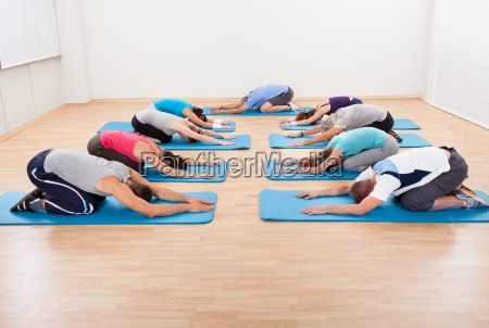 group stretching exercises