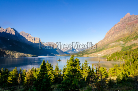 scenic view of mountain range in