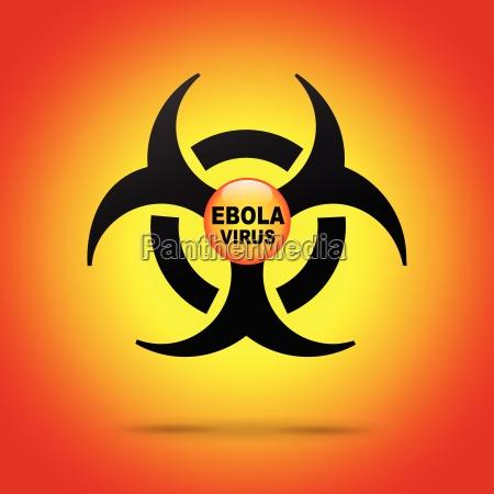 vector ebola virus illustration