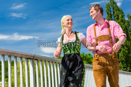 couple visited festival has fun