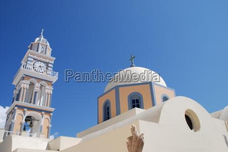 catholic church cathedral santorini john the