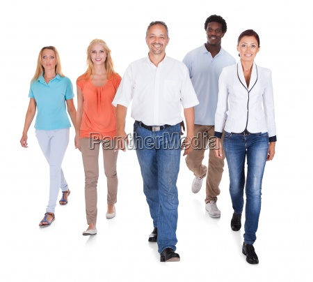multi racial group of people