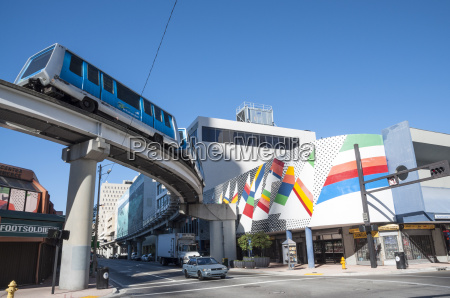 fully automated miami downtown train system