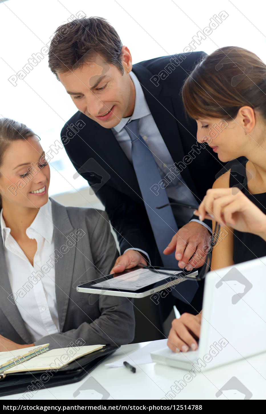 business, team, on, a, project, meeting - 12514788