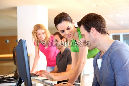 students, in, computing, training, class - 12530042