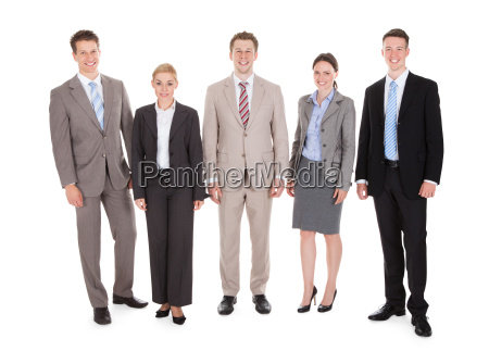 portrait of confident young business people