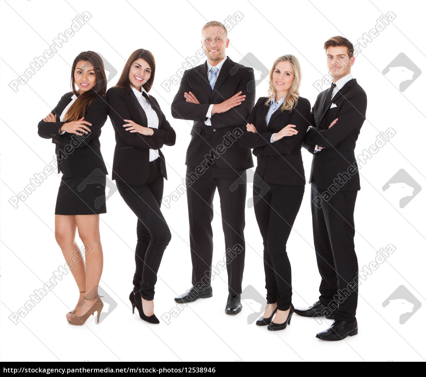 portrait, of, welldressed, businesspeople - 12538946