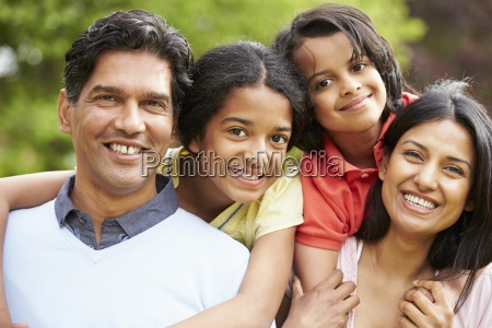 indian, family, walking, in, countryside - 12540512