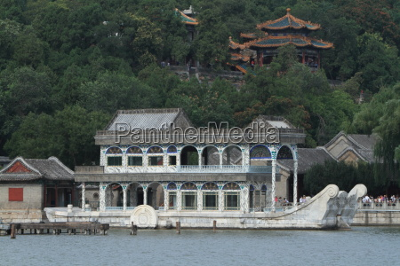 marble boat in the summer palace