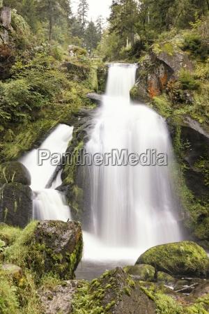 waterfall black forest highest waterpower nature