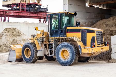 shovel loader wheel loader with large