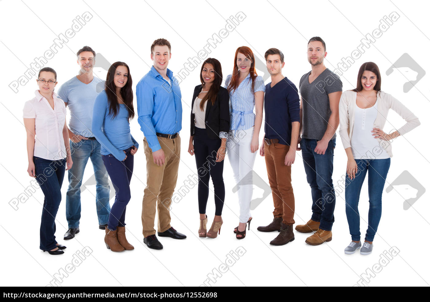 group, of, diverse, people - 12552698