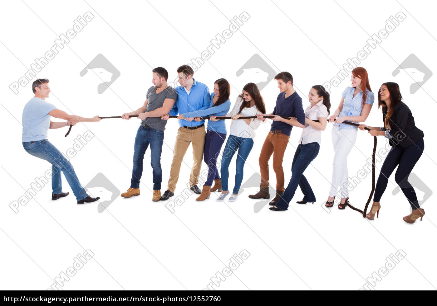 group, of, people, having, a, tug - 12552760