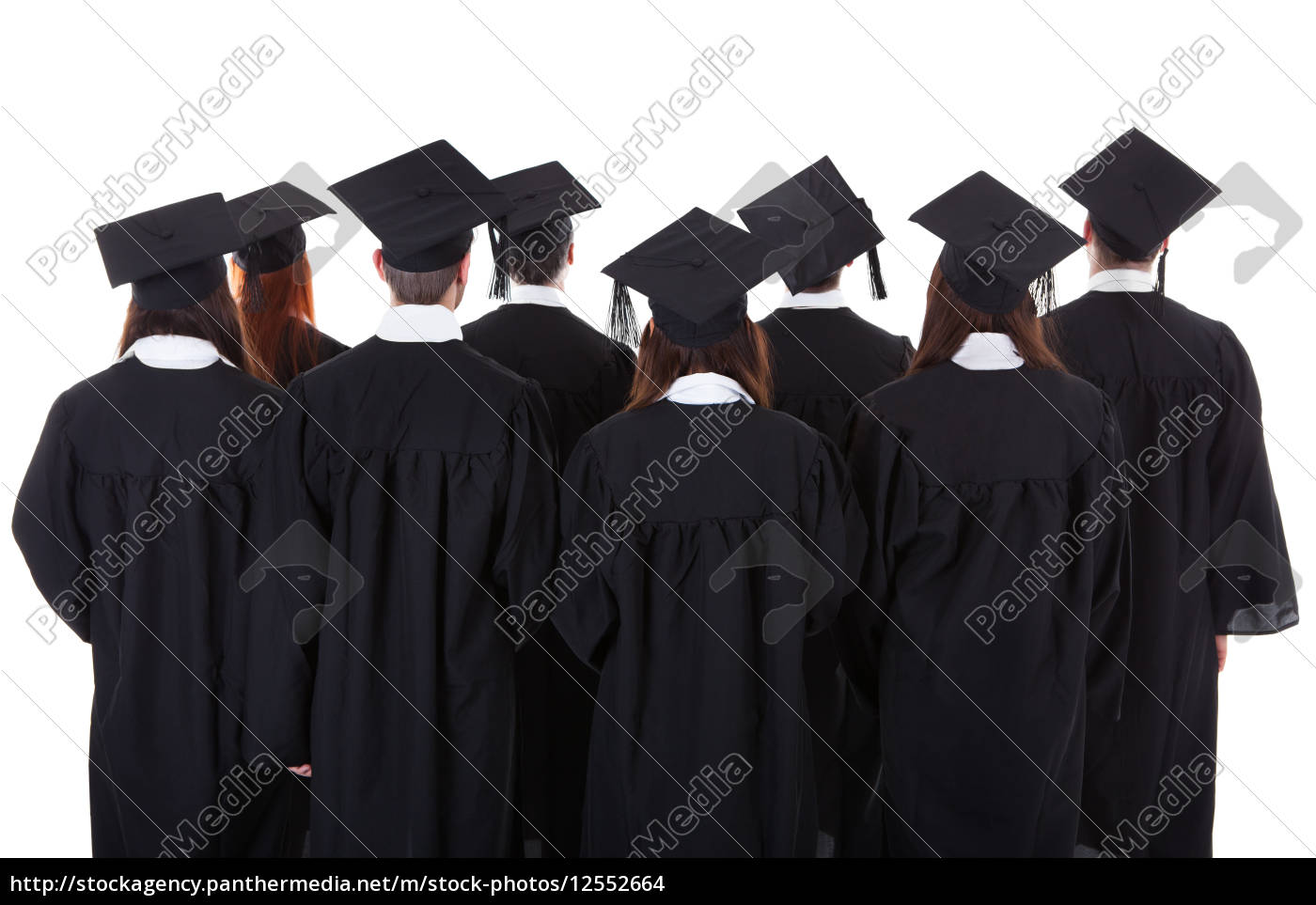 large, group, of, students, graduating - 12552664