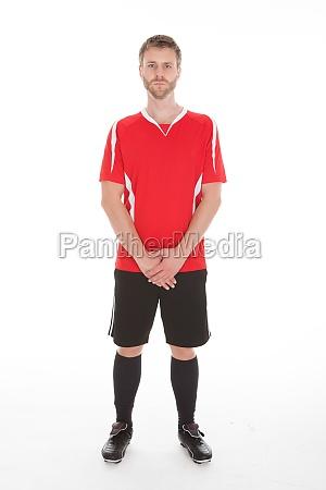portrait of man in sportswear standing